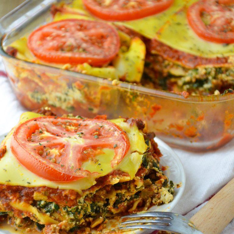 Vegan Gluten Free Lasagna