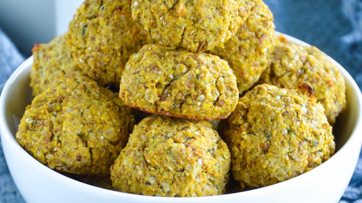 The Best Vegan Lentil Meatballs (Gluten Free)
