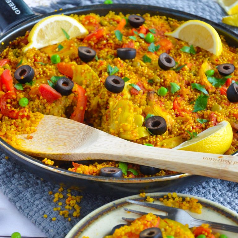 Vegetable Quinoa Paella