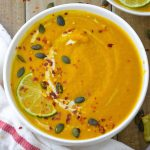 sweet potato carrot soup