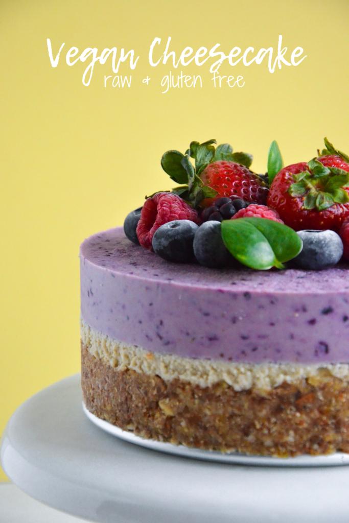 raw vegan cheesecake- veggie world recipes