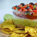 vegan seven layer dip