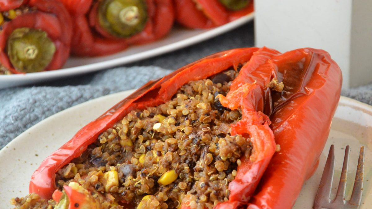 Quinoa Stuffed Peppers (V|GF)