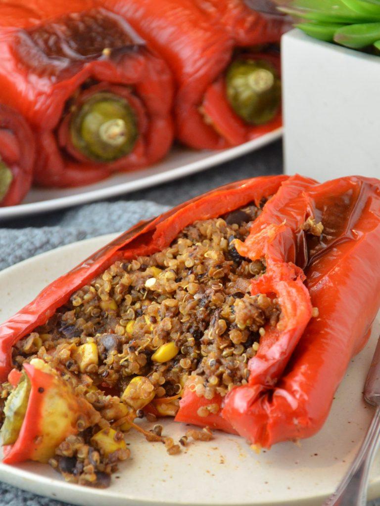 Quinoa Stuffed Peppers (V|GF)