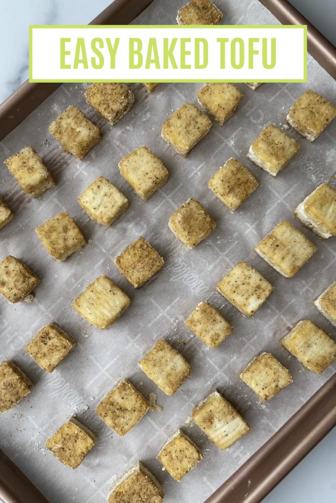 easy baked tofu