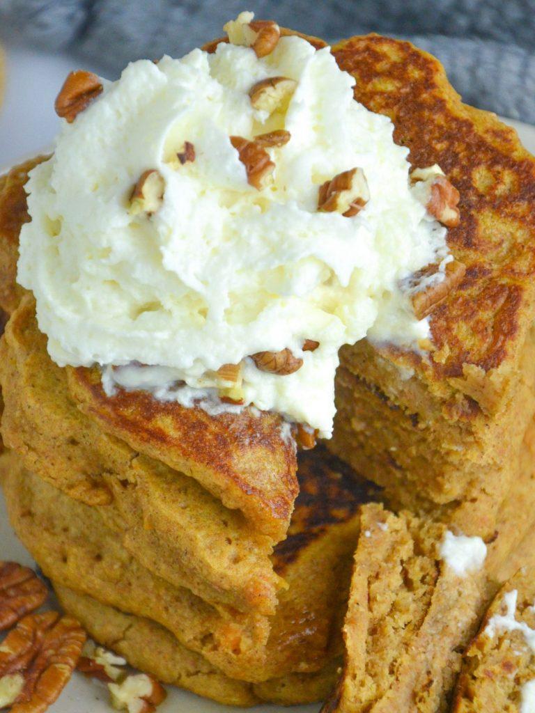 Pumpkin Pancakes (Vegan)