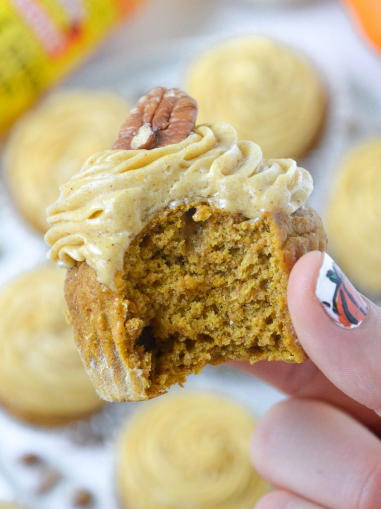 Pumpkin Cupcakes with Bragg Apple Cider Vinegar