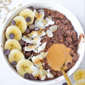 chocolate protein oatmeal