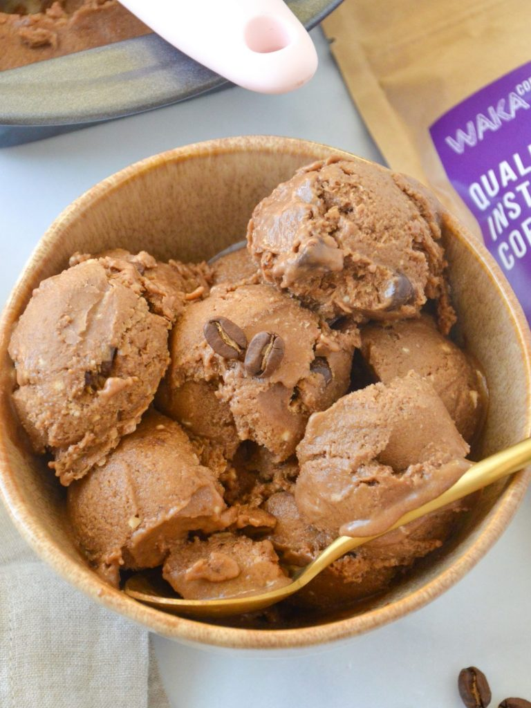 Coffee Ice Cream – Easy / Vegan