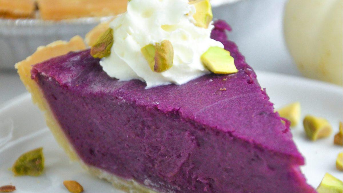 Ube (Purple Sweet Potato) Pie