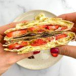 sweet tortilla wrap