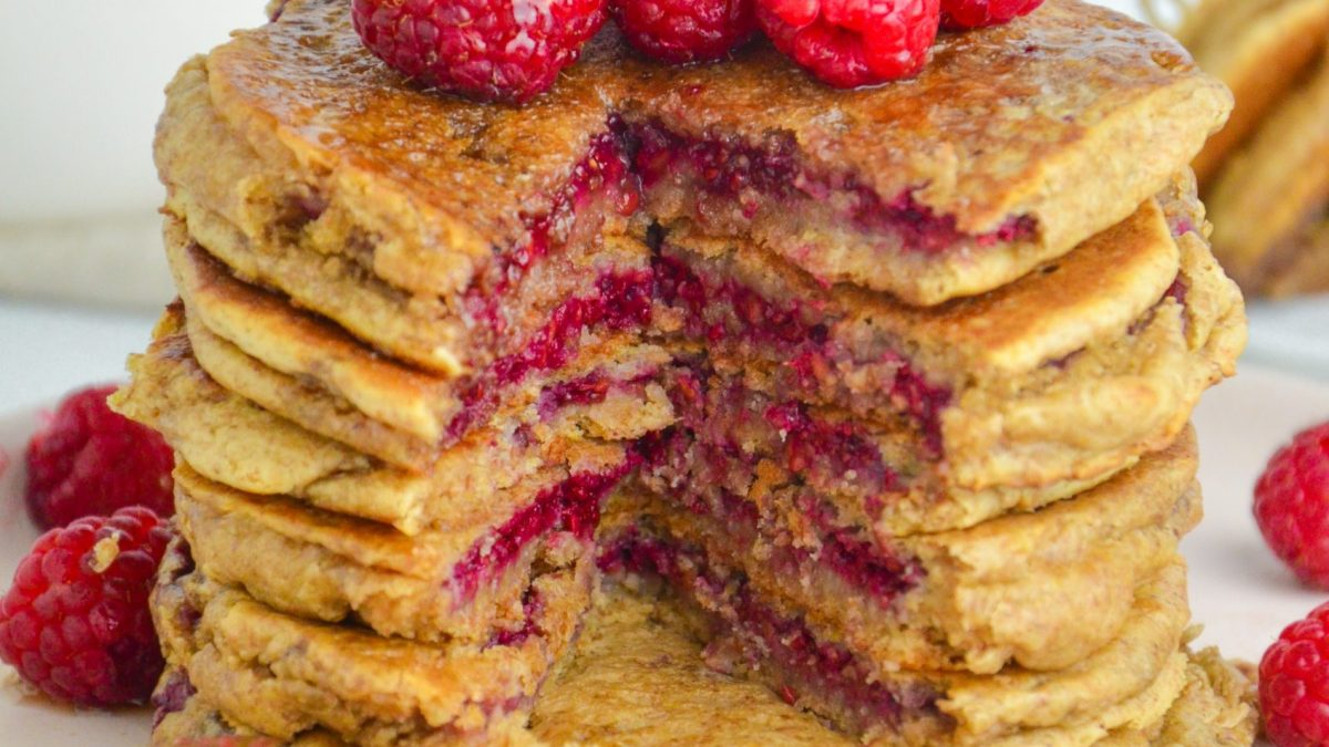 Peanut Butter and Jelly Pancakes