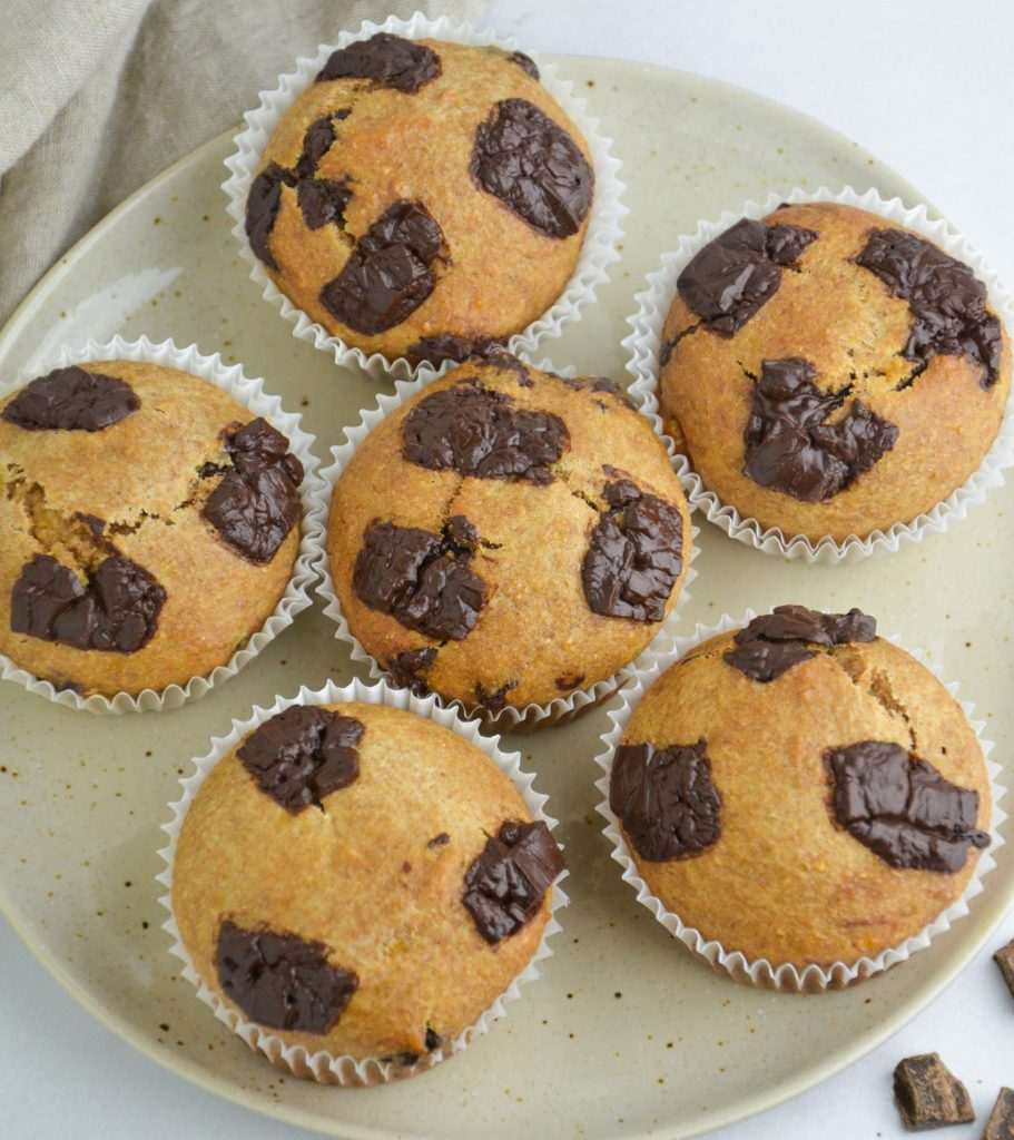 muffins in a plate