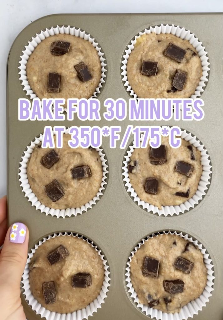 muffin pan with muffin batter