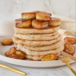 caramelized banana pancakes
