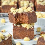 brownies with a bite into them